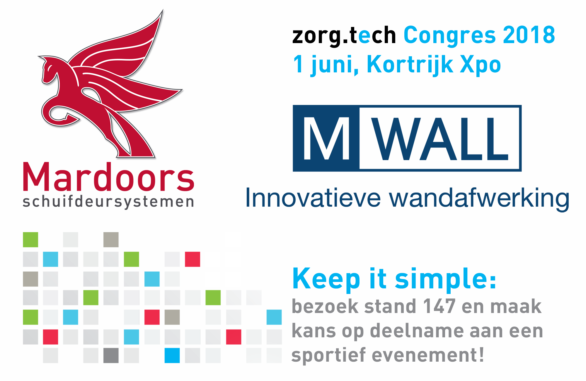 Mardoors En M-Wall Op Zorg.tech Congress